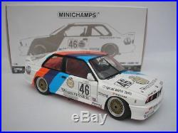 BMW M3 #46 Calder WTC 1987 Ravaglia/Pirro 1/18 MINICHAMPS 180872046 NEW