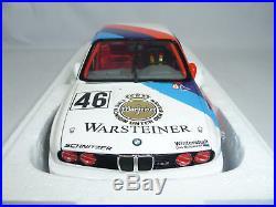 BMW M3 E30 WTC 1987 RAVAGLIA/PIERRO/CALDER #46 118 MINICHAMPS VERY RARE 1500pcs