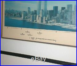 Battery Park City Photo Poster Framed Lehman Brothers Bond Offer Twin Towers WTC