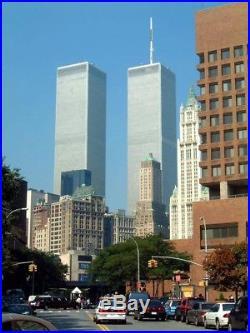 Borders Bookmark of 5 World Trade Center WTC5 NYC PRE 9/11 Plus surprises