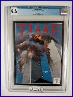 CGC 9.6 9-11 9/11 World Trade Center Magazine Time Newsweek September 11, 2001