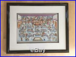 CHARLES FAZZINO, 9 to 5, FRAMED, WTC, NEW YORK CITY, CHICAGO, SAN FRANCISCO, SEATTLE