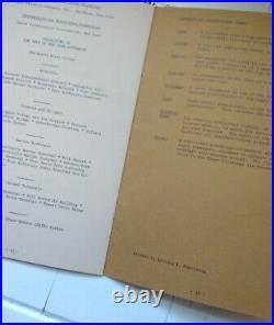 Construction of World Trade Center Brochure Booklet Before 9/11 1970s