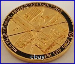 DOJ FBI CITF OMCP High Value Detainee Prosecution Task Force WTC Pentagon FLT 93
