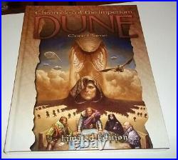 DUNE CHRONICLES OF THE IMPERIUM Limited Edition RPG Last Unicorn Games