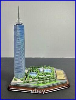 Danbury Mint One World Trade Center NYC Commemorative Statue Freedom Tower RARE