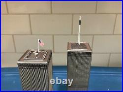 Danbury Mint World Trade Center Twin Towers 9-11 Comes in Original Box