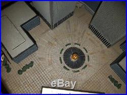 Danbury Twin Towers World Trade Center Commemorative Replica 911 Sept 11 A+