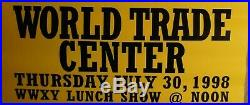 Dixie Chicks Rare World Trade Center 1998 Tramps Concert Poster 36l X 24w
