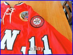 FDNY 9/11 Fallen Heroes WTC Hockey Jersey XL- Pedersons/Maurine's Inc. NEW