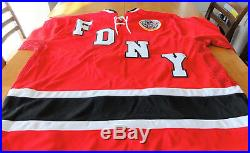 FDNY 9/11 Fallen Heroes WTC Hockey Jersey XXL- Pedersons/Maurine's Inc. NEW