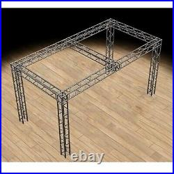 Global Truss 10'x20'x10' Trade Show Booth with UJB Corners and Center Beam