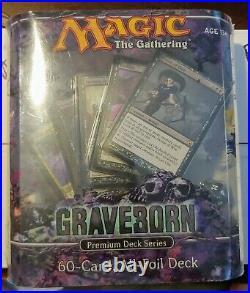 Graveborn Premium Deck Series Box Set New Box Sets MTG. 60 cards. Nice Foils