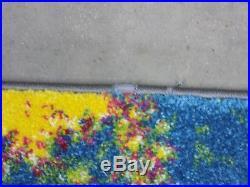 Green / Multi 8' x 10' damage binding rug, reduced price 1172555838 WTC697C-8