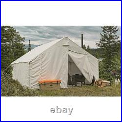 Guide Gear Canvas Wall Tent, 12' X 18