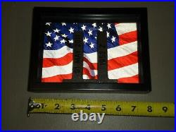 HTF RARE 9/11 World Trade Center Sculpture PORT AUTHORITY Steel Ruins # 1952Z