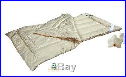 Hypoallergenic Washable Pure Wool Comforter, a Down Alternative TWIN 66x86 Safe