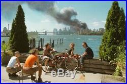 ICONIC September 11 WTC Photo- THOMAS HOEPKER SIGNED 6 x 6 MAGNUM PRINT 9/11