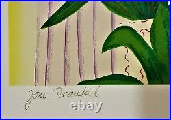 JONI FRANKEL Original SERIGRAPH Pencil Signed 41/200 VIEW of WORLD TRADE CENTER