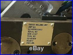 Kawasaki ZX200S Spot Welding Robot, ARO weld Gun, & WTC control