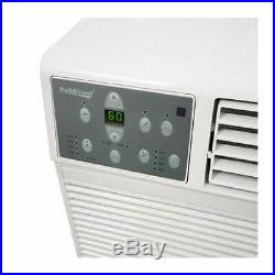 Koldfront 8,000 BTU Wall Air Conditioner 1.3 kW Electric Heat 115V