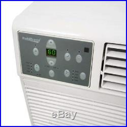 Koldfront WTC8001WSLV White 8000 BTU 115V Through the Wall Air Conditioner with