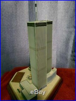 LARGE World Trade Center Complex porcelain souvenir building Danbury Mint