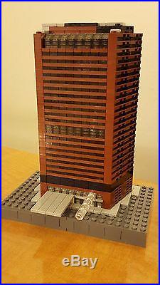Lego New York WORLD TRADE CENTER Twin Towers Architecture kit MOC 5,289 pieces