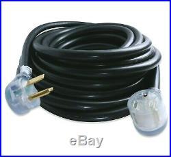 Leisure Cords 50' 220 Volt 50 Amp Heavy Duty 8/3 Welder Extension Cord MIG TIG