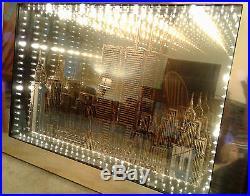 Light Box Wall Art featuring World Trade Center Twin Towers & Brooklyn Bridge