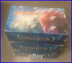 MAGIC THE GATHERING MTG RETURN TO RAVNICA BOOSTER 3x BOX FACTORY SEALED NEW