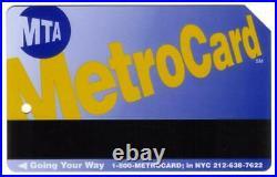 MTA MetroCard New York City Transit ($5.) World Trade Center Transit Card