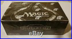MTG Magic ENGLISH Factory SEALED Core Set 2013 booster box, New! M13 36 Packs