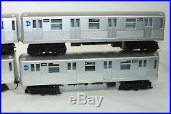 MTH 30-2162-1 Rare World Trade Center 4 Car Set NYC MTA Rail King 2 Rail Kadie