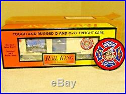 MTH NEW YORK CITY FIRE DEPT BOXCAR FDNY & Rescue 2 PATCH World Trade Center 911