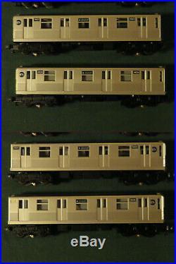 MTH Rail King 30-2162-0 MTH Horn 4-Car Subway Set E-Train World Trade Center