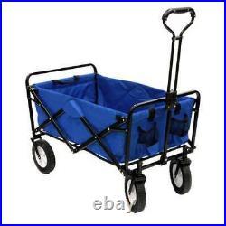 Mac Sports Folding Steel Frame Outdoor Garden Utility Wagon Cart (Open Box)