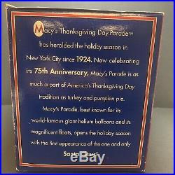 Macys Thanksgiving Day Parade Snow Globe 75th Anniversary World Trade Center NEW
