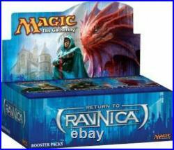 Magic The Gathering Return To Ravnica Booster Box Factory Sealed 36 Packs Mtg
