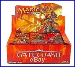 Magic the Gathering Gatecrash Booster Box MTG Factory Sealed English Free Ship