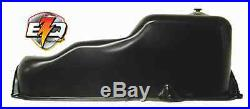 Mercruiser 5.0 5.7 Chev Marine Oil Pan with 1/2 Plug + oil baffle & rails