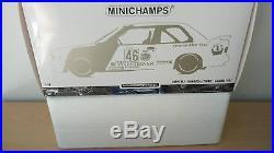 Minichamps 1/18 BMW M3 Ravaglia/Pirro Class Winners Calder WTC 1987 Warsteiner