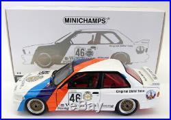 Minichamps 1/18 Scale Diecast 180 872046 BMW M3 E30 Class Winners Calder WTC 87