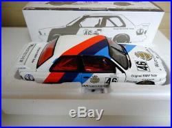 Minichamps 1/18 scale BMW M3 Ravaglia / Pirro Calder 1987 New Boxed Limited Ed