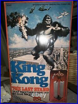 Mint SEALED MEGO KING KONG Like Aurora THE LAST STAND WORLD TRADE CENTER MODEL