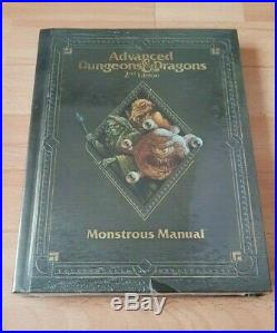 Monstrous Manual AD&D 2nd Edition 2.5E TSR 2140 MM WTC Wizards 2013 SW NM