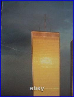 NATIONAL AIRLINES NEW YORK WORLD TRADE CENTER 1978 Vintage Travel poster 28x42