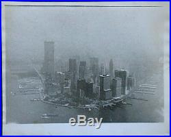 NEW YORK Skyline, Original Fotografie 1972 by Gordon Rynders, World Trade Center