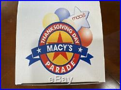 NIB WTC Twin Towers 1999 1st Issue Macys Thanksgiving Day Parade Snow Globe
