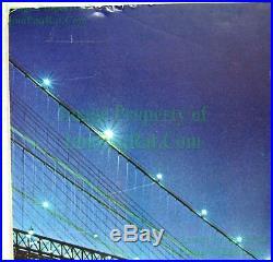 NITF John McEnroe NIKE Poster with Brooklyn Bridge WTC Twin Towers Foam Board